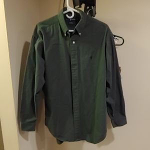 Polo Ralph Lauren long sleeve cotton button front